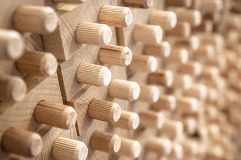 Technische Fertigungskompetenz - Holzdübel